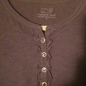 Vinyard Vines LS knit top Size L